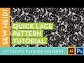 How to Make a Lace Pattern in Illustrator (& Photoshop)