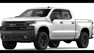 2019 Silverado White Trail Boss Walk Around and Review of Features