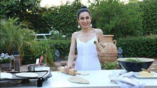 Женгялов Хлеб - Лепёшки с Зеленью - Армянская Кухня - Рецепт от Эгине - Heghineh Cooking Show