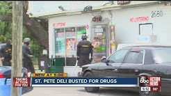 St. Pete store investigated for illegal drugs