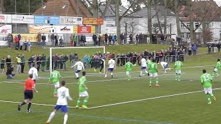 U19 DFB-Pokal Viertelfinale: SV Gonsenheim - VfL Wolfsburg 0 : 2 (21.12.14)