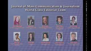 Mass Communication & Journalism Journal OMICS Publishing Group