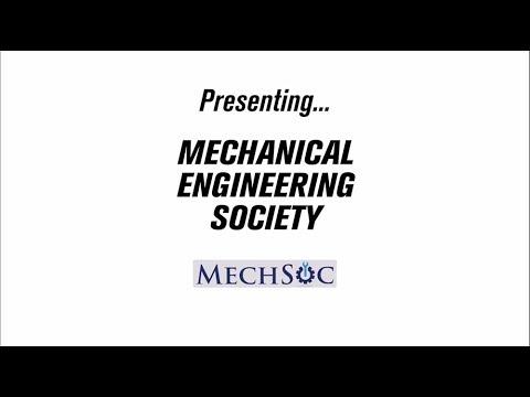 Society Vlog - MechSoc - Mechanical Engineering Society