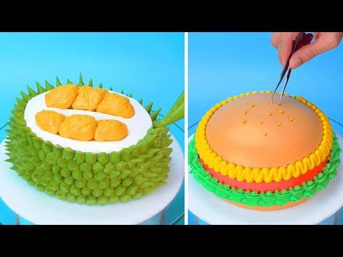 amazingly-simple-cake-decorating-ideas-|-easy-cake-decorating-hacks-|-so-yummy-cake-recipes