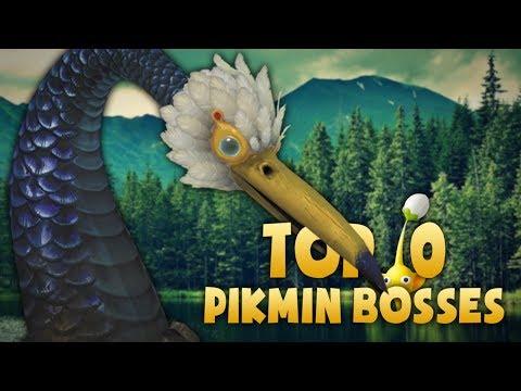 Top 10 Pikmin Bosses