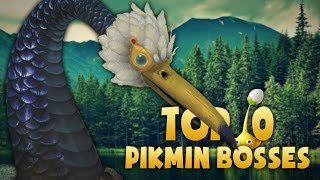 Top 10 Pikmin Bosses