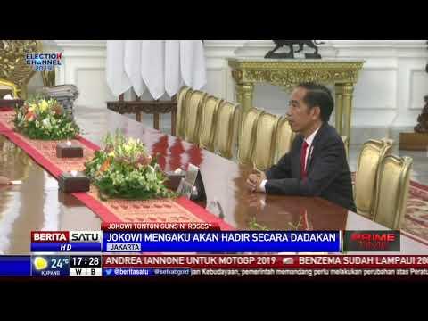 Bila Sempat, Jokowi Akan Datang Dadakan ke Konser Guns n Roses Mp3