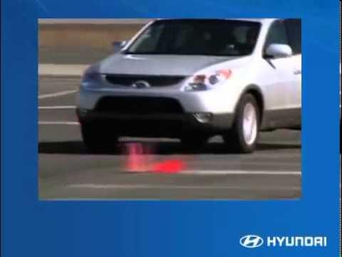2011 Hyundai Veracruz—Driver's POV  Controls, features and amenities