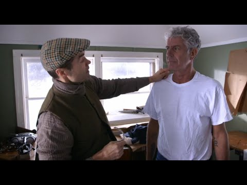 Raw Craft with Anthony Bourdain - 15s Trailer:  Frank Shattuck