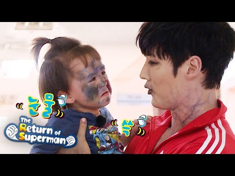 William and Bentley meet the star of Zombie Detective, Choi Jin Hyuk [The Return of Superman Ep 345]