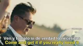 John Newman - Come And Get It [Lyrics English - Subtitulado Español] Official Video