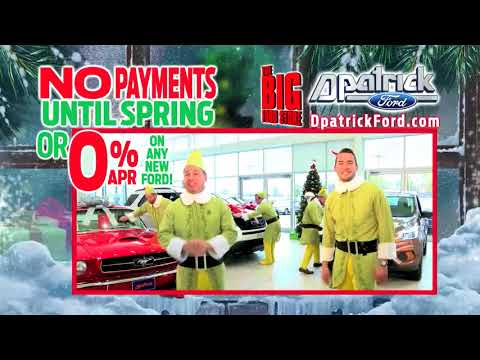 D-Patrick Downtown Ford - December Televition Ad