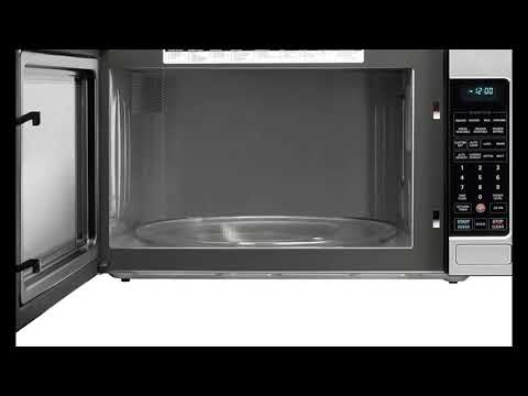 LG LCRT2010ST 2 0 Cu Ft Counter Top Microwave Oven with Easy Clean