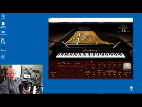 Waves Grand Rhapsody Virtual Instrument Live First Look