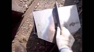 как сделать печь для бани из металла своими руками