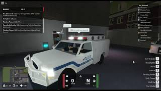 New Havens County Law Enforcement   Protecting the capitol!   Roblox   #3