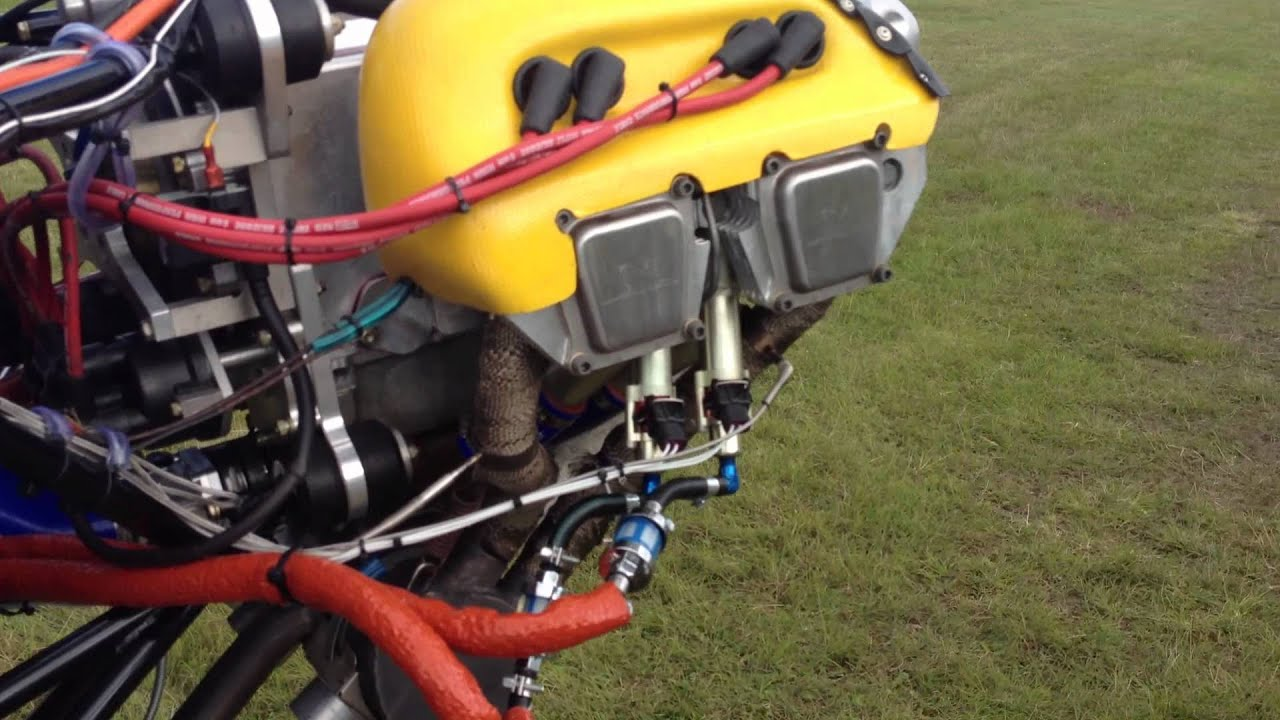 Sonex Jabiru 2200 Fuel Injection  First run by EdgePerformance NORWAY