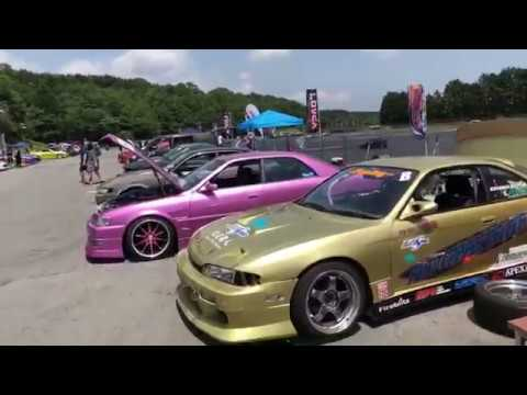 Drifting en Fuji Speedway JDM Coches Japoneses
