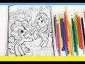 My little pony coloring pages mlp coloring for kids pinkie pie and fluttershy
