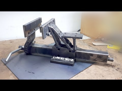 DIY Metal Big Bench Vise - Homemade vise - Mengene Yapımı