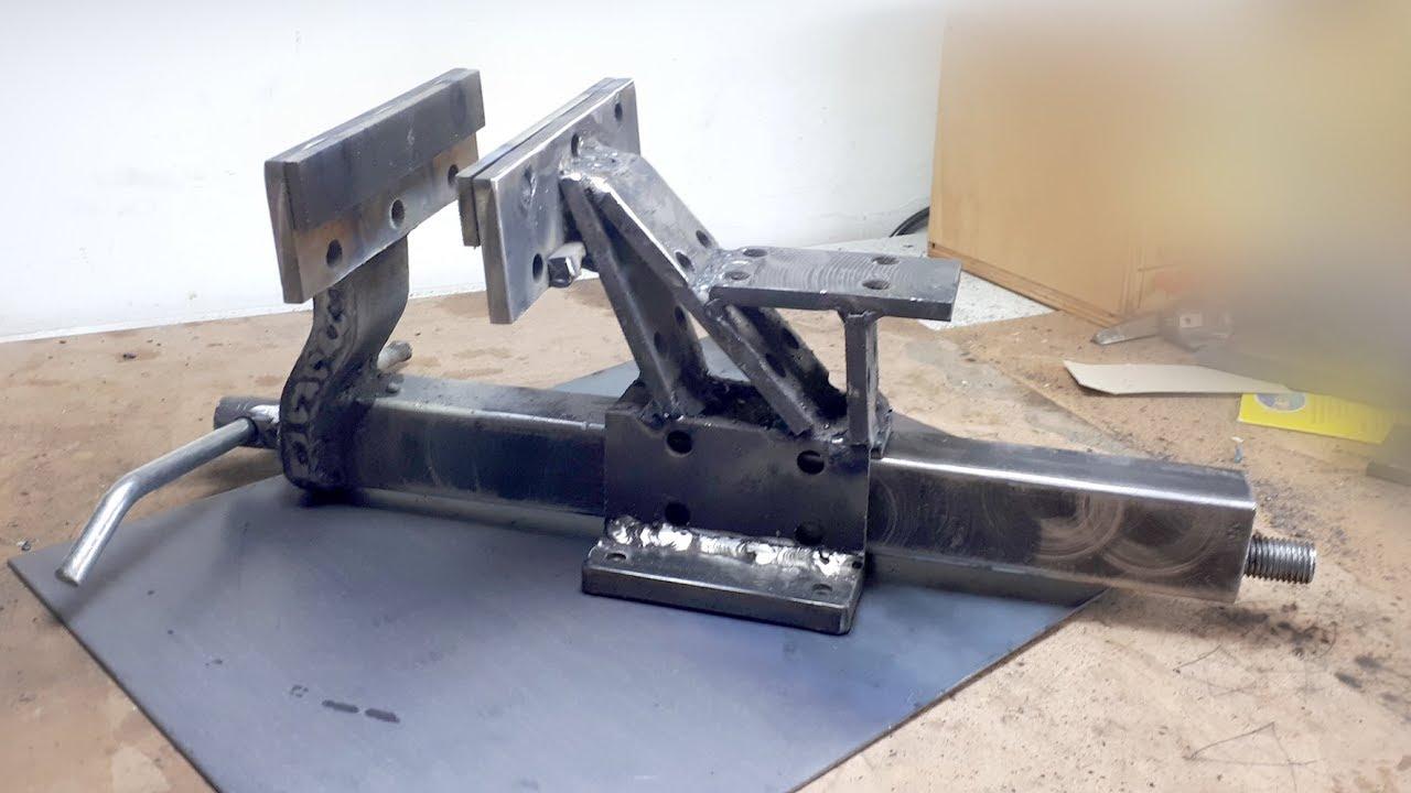 Diy Metal Big Bench Vise Homemade Vise Mengene Yapımı