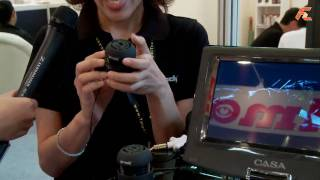 Video Go rock stereo portable mini travel speakers @ Computex 2010 download MP3, 3GP, MP4, WEBM, AVI, FLV Agustus 2018