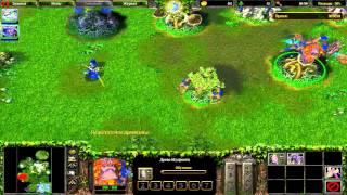 WarCraft 3 Кампания ночных эльфов, часть 7 - Битва за гору Хиджиал [ФИНАЛ]