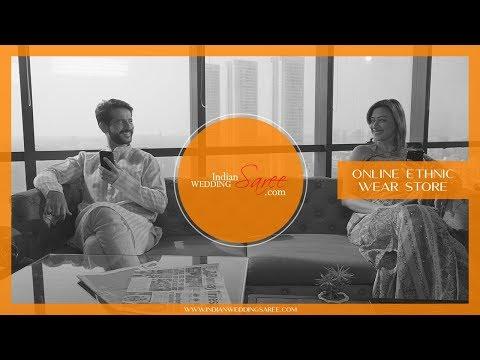 IndianWeddingSaree.com ft. Hiten & Gauri Tejwani