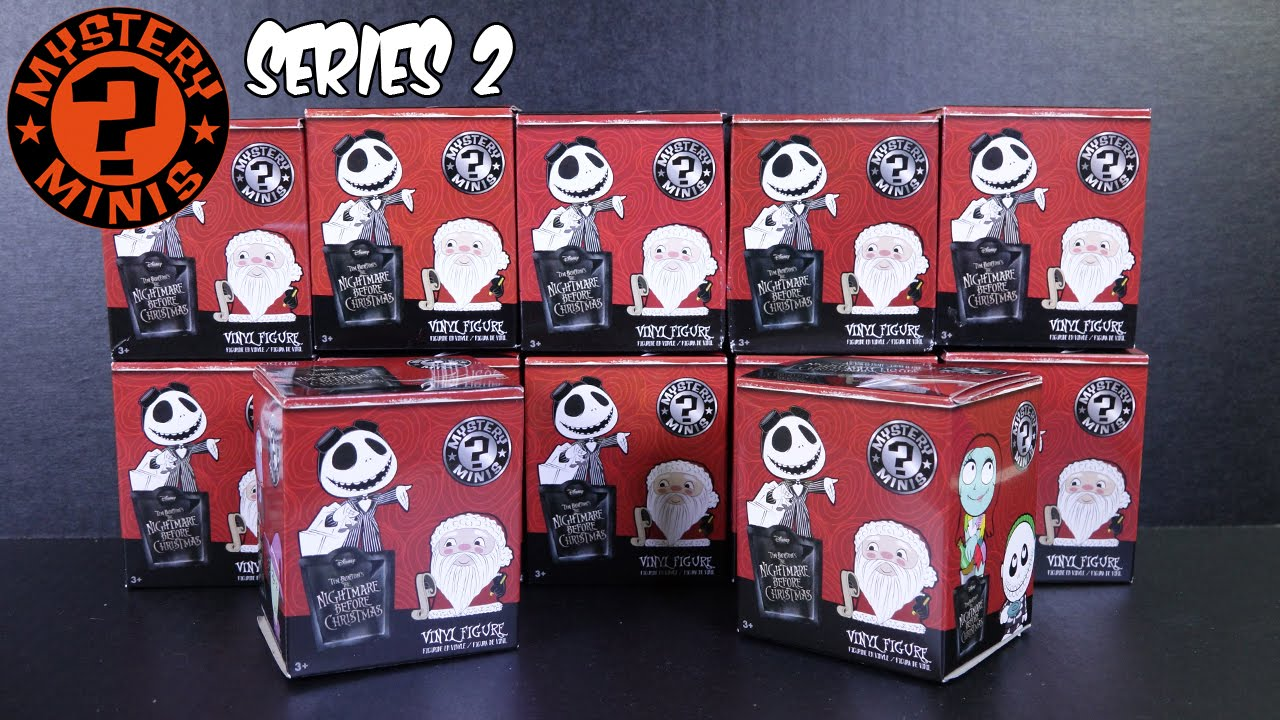 Funko Mystery Minis - Nightmare Before Christmas - SERIES 2 (12 ...
