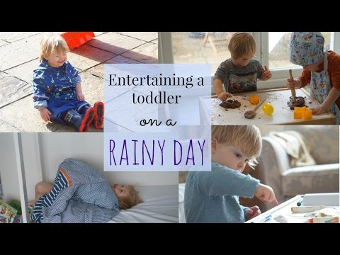Thumbnail: HOW TO ENTERTAIN A TODDLER ON A RAINY DAY