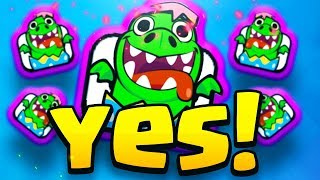 WINNING the DRAGON HUNT EMOTE in Clash Royale... FINALLY!!!