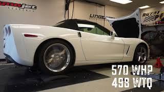 C6 Corvette 378 CID LS3 Magnuson Heartbeat TVS2300 Supercharger 670 HP