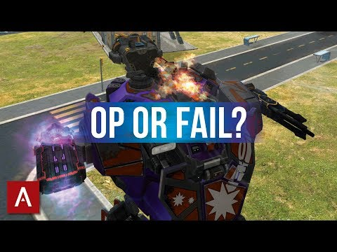 GOOFY Lancelot Builds - OP or FAIL?   War Robots Funny Builds Friday Ep.24