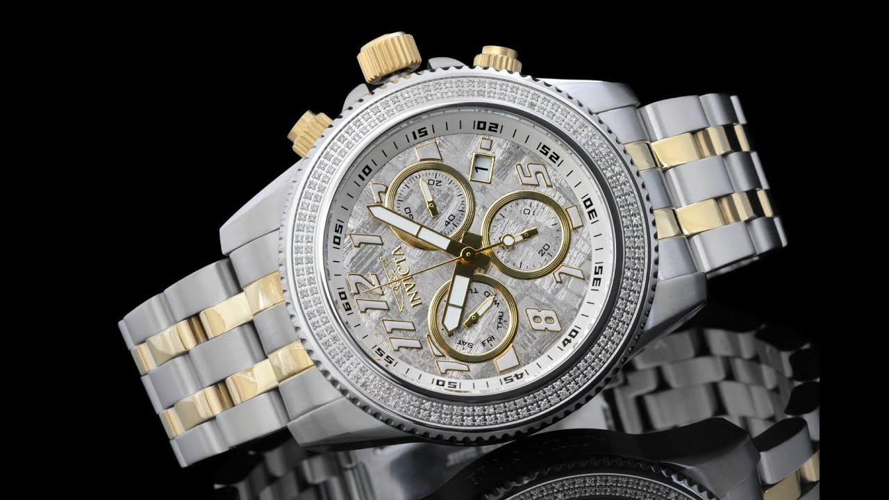 Invicta Watches Meteorite Diamonds