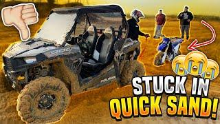 we-got-the-polaris-900-rzr-stuck-in-quick-sand-braap-vlogs