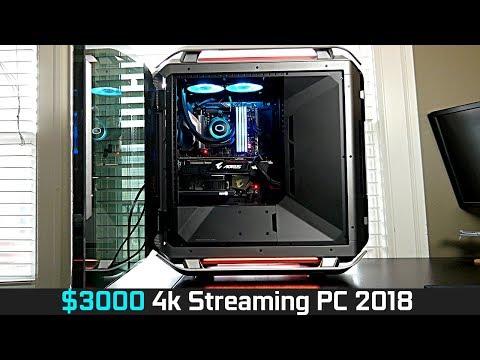 $3000 4k Gaming/Streaming PC Build (Summer 2018)