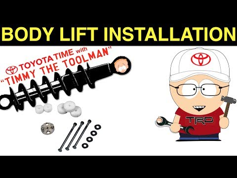 Body Lift Installation on a Toyota 4Runner