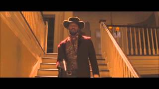 I count six shots scene django unchained