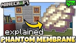 Minecraft - PHANTOM MEMBRANE GUIDE [ Tutorial ] MCPE / Xbox / Bedrock / Java