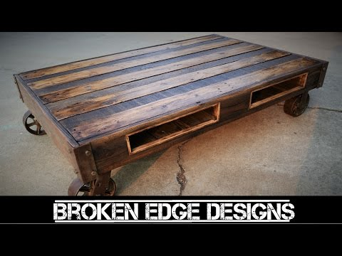 Thumbnail: Pallet Wood Coffee Table