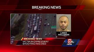 Victim in I-93 shooting in Boston has died