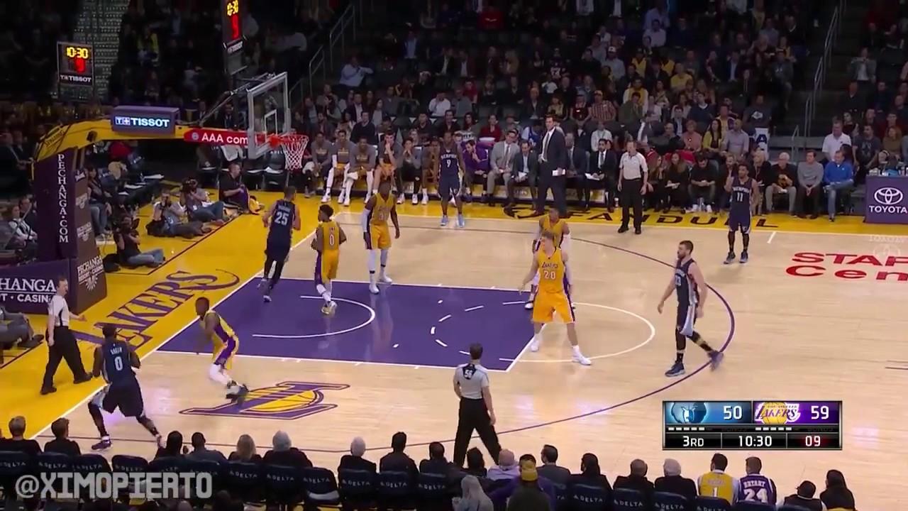 Memphis Grizzlies vs LA Lakers Full Game Highlights January 3, 2017 2016 17 NBA Season - YouTube