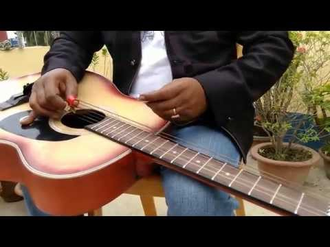 Jeena Jeena By Shyamal Chowdhury | Badlapur | On Acoustic Hawaiian Guitar