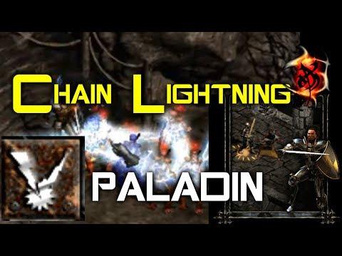 Chain Lightning Paladin - Diablo 2