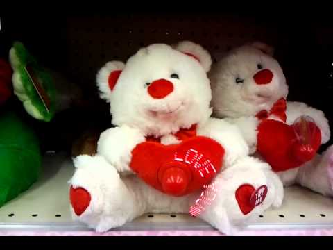 valentines day bear at walgreens - Valentine Day Bears