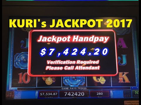 ★JACKPOT 2017 !☆KURI Slot's All HandPay in 2017 😍☆How many did you remember my Jackpot? 🎰😉☆彡栗スロ