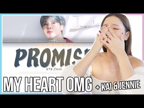 BTS JIMIN (지민) - Promise (약속) REACTION + MY THOUGHTS ON KAI AND JENNIE DATING