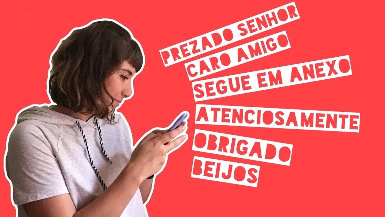 Como escrever um e-mail em português 📩