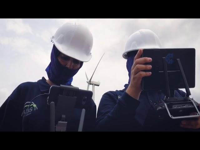 Inspección de Palas con Drone