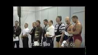 1999 и 2003 ветераны пауэрлифтинг СПб